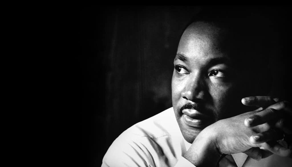 A picture of Martin Luther King